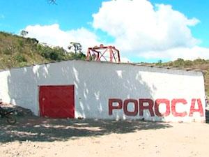 Acidente em garimpo na Bahia (Foto: Imagem/TV Norte)