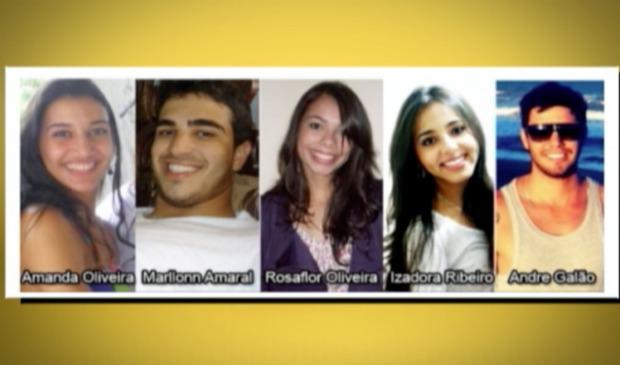 Jovens estão desaparecidos desde a última sexta-feira (20). (Foto: Reprodução/TV Gazeta)