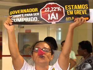 Professores (Foto: Reprodução/TV Bahia)
