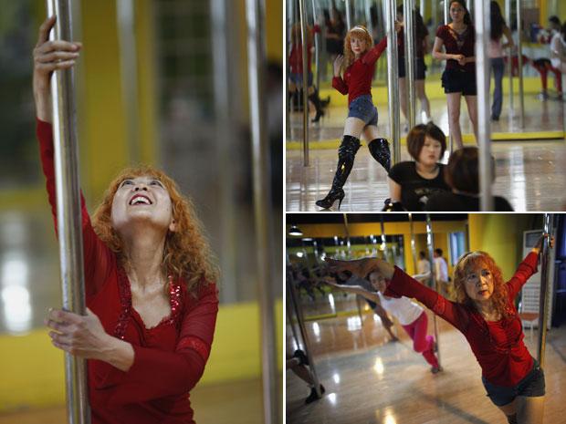 G1 - Dançarina de pole dance, chinesa de 60 anos diz