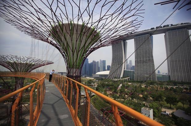 Jardim será aberto para o público no dia 29 de junho. (Foto: Wong Maye-E/AP)