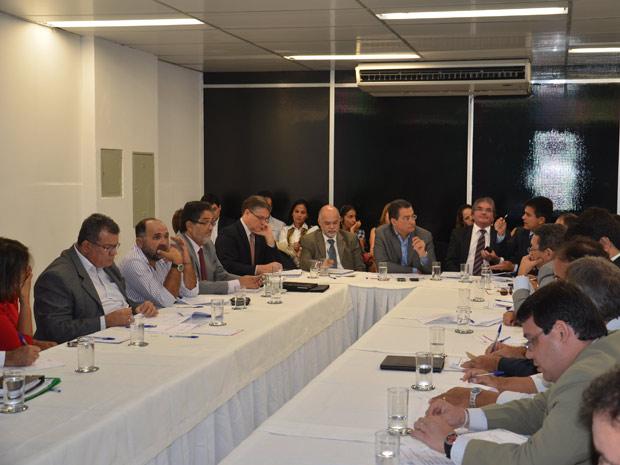 Comitê Estadual para Ações Emergenciais de Combate à Seca (Foto: Divulgação/Filipe Nobre/Casa Civil da Bahia)