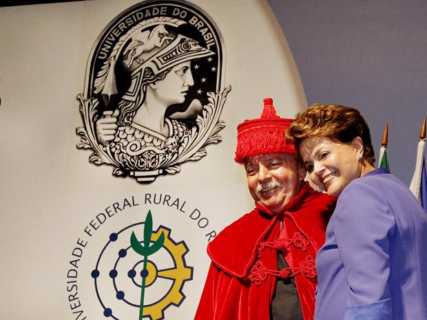 Ex-presidente Lula em cerimônia no Rio (Foto: Roberto Stuckert Filho / Presidência)