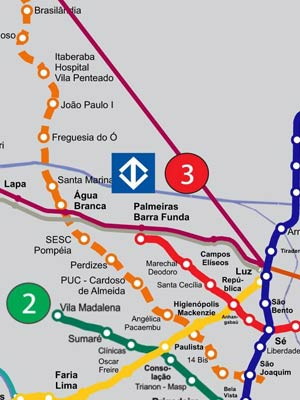 metro bela vista mapa G1   Metrô decreta desapropriações para construção de Linha 6  metro bela vista mapa
