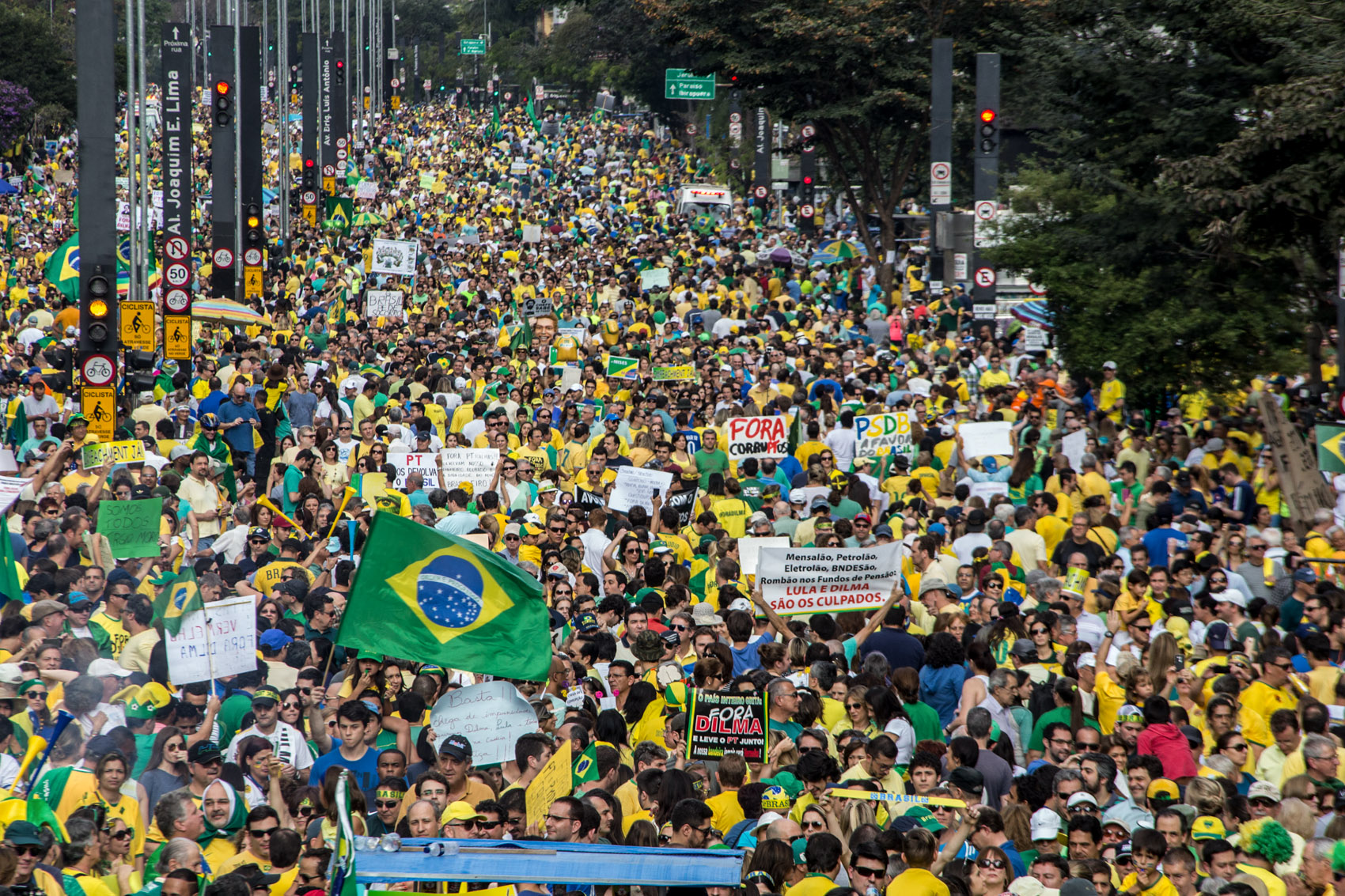 cd370783e8806 FOTOS  manifestações deste domingo (16) - fotos em Política - g1