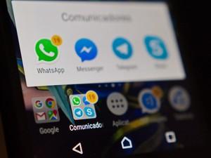 500d58dc19 Número estrangeiro no WhatsApp e anúncios de vírus no celular  pacotão
