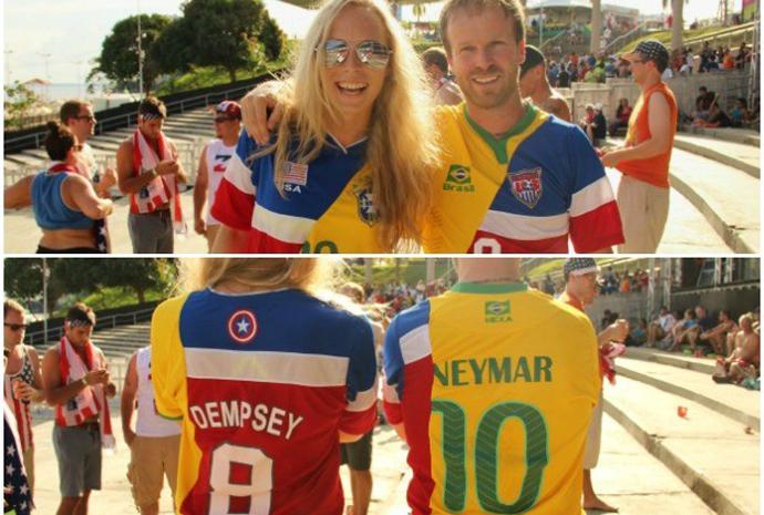 b3986130ef ... que fizeram com as camisas dos EUA e Brasil.