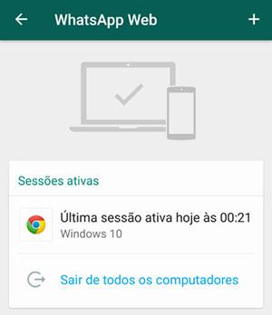 como conectar meu iphone no whatsapp web