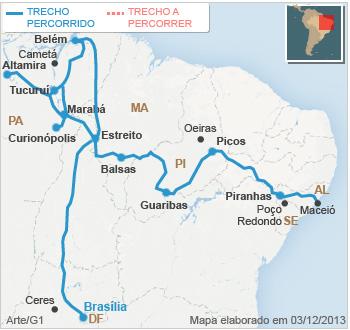 c06f8b50c3 Trinta e três dias depois de começarmos nossa viagem em Maceió (AL)