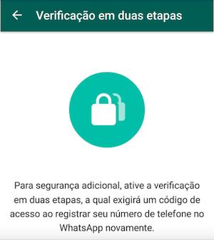 6c7fbcb8e0850 WhatsApp: como redefinir o PIN de segurança para a autenticação em ...