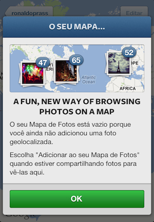 Saiba como configurar o recurso de geolocalização do Instagram | G1