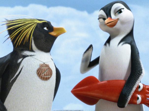 Rede Globo Filmes Desenho Especial Traz O Pinguim Maverick Em