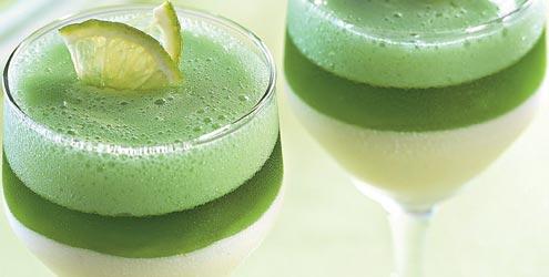 Image result for Gelatina com Creme de Limão