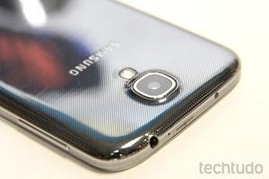 Câmera do Galaxy S4 (Foto: Allan Melo/TechTudo)