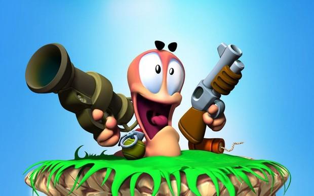 Resultado de imagem para worms game