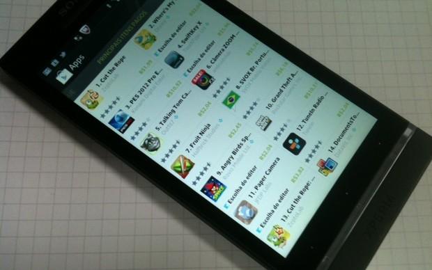 Google Play (Foto: Allan Melo/TechTudo)