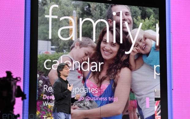 Windows Phone 8 tem diversas funções dedicada à familia (Foto: Reprodução/Engadget)