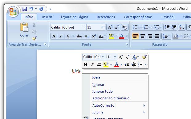 corretor ortografico office 2007 gratis