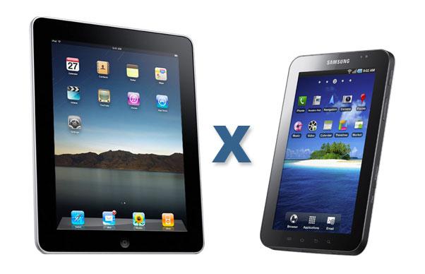 0a2bc1ab9 iPad x Galaxy Tab  e o melhor tablet do ano é...