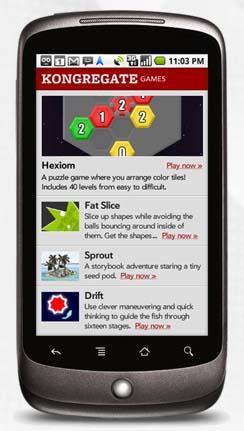 Kongregate para Android (Foto: Divulgação)