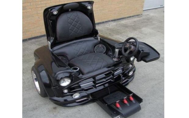 Cadeira Para Games Feita Com Um Mini Cooper Not 237 Cias