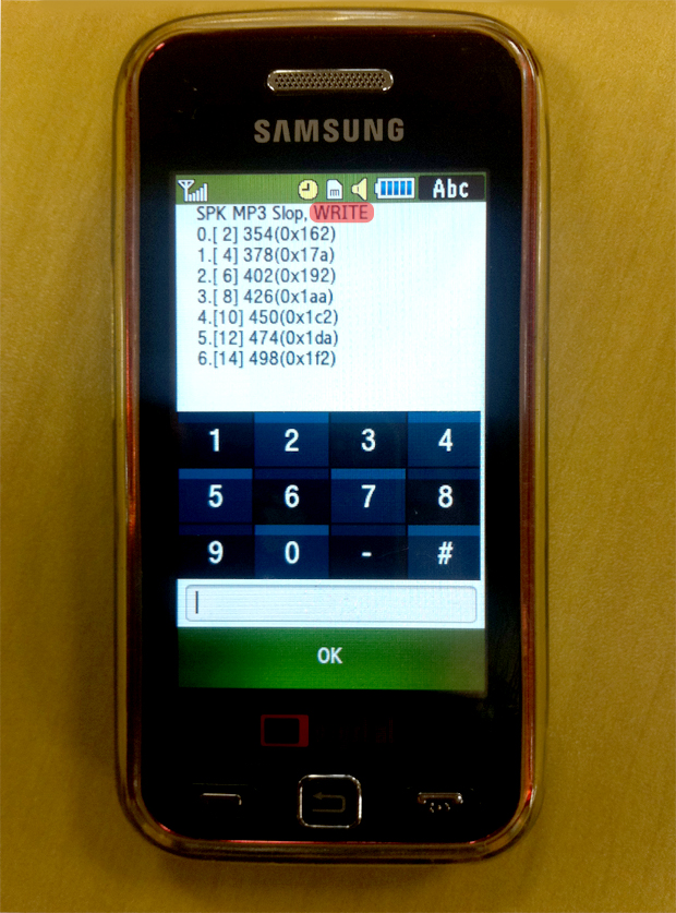 equalizador de som para celular java