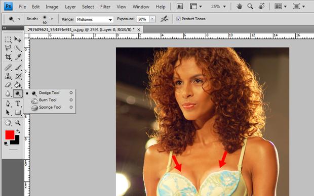 8645ec0e7 Aprenda a aumentar o tamanho dos seios com o Photoshop