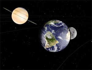 Site Mostra Posi 231 227 O Dos Planetas Em Tempo Real E Em 3d