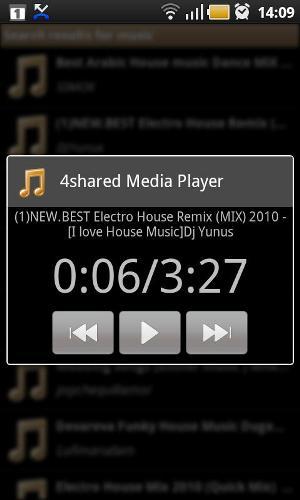 4shared Music for Android (Foto: Divulgação)