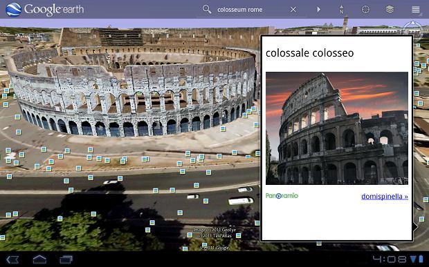 Google Earth para Android. (Foto: Divulgação)