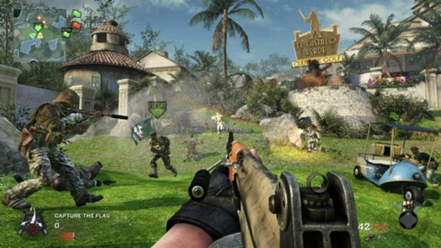 Call of Duty: Black Ops Playstation 3-jogo em curso!