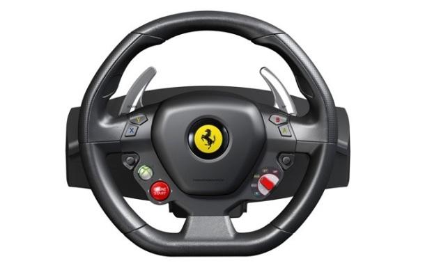 thrustmaster lan a r plica de volante ferrari 458 italia racing para o xbox 360 not cias. Black Bedroom Furniture Sets. Home Design Ideas
