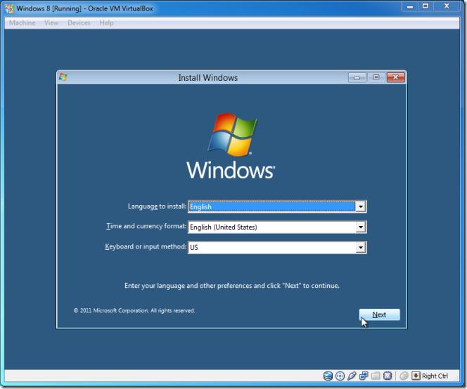 Página principal do Windows 8 Developer Preview. (Foto: Addictivetips)