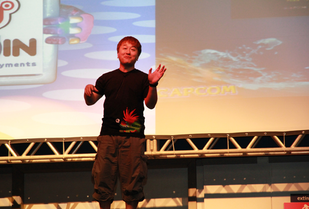 Yoshinori Ono faz conferência sobre Street Fighter x Tekken (Foto: Allan Melo/TechTudo)