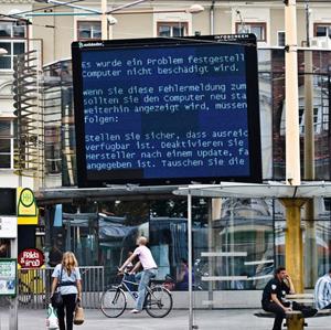tela azul windows (Foto: Reprodução)