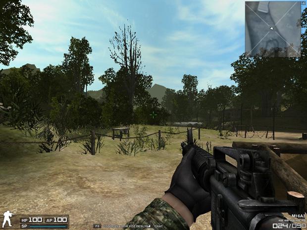 3a9b3a75538 Treinamento para novatos do jogo Combat Arms (Foto  Reprodução)