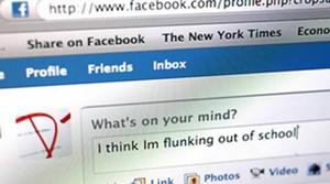 Usuários do Facebook tem notas menores (Foto: Reprodução)