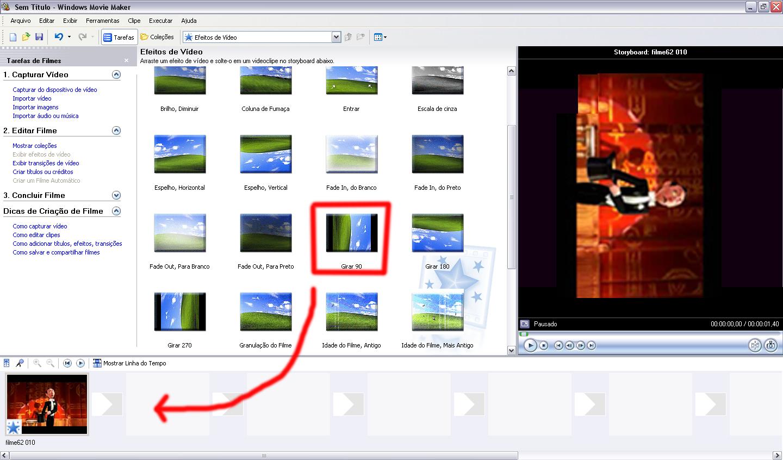 efeitos e transies para windows live movie maker