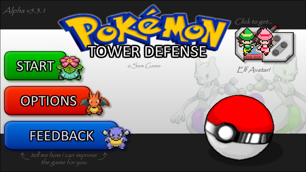 Pokemon Tower Defense – Microjogos