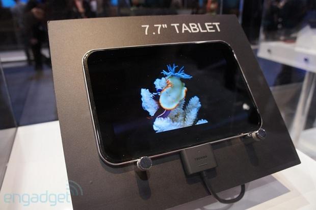 e332c180d Toshiba exibe protótipos de tablets com 13