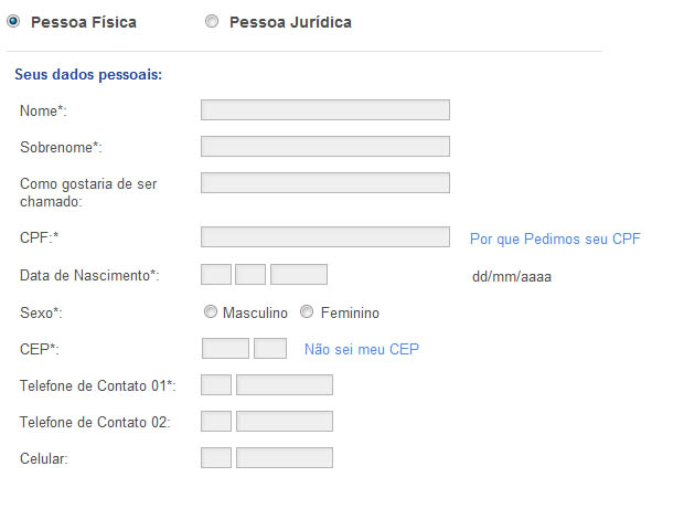 3b057f26df3af Insira seus dados para confirmar o cadastro e obter o seu login (Foto   Reprodução)