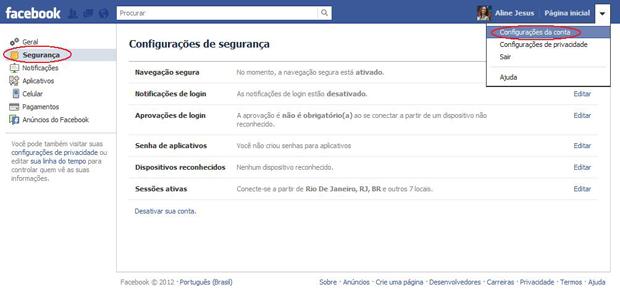 cd1f938546 Facebook  como acessar seu perfil somente em dispositivos ...
