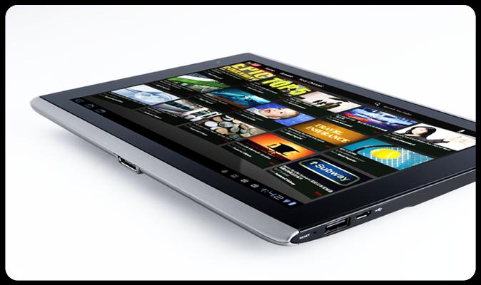 7078a41dcd1 Acer Iconia Tab A500 (Foto  Divulgação)
