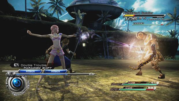 Final Fantasy XIII-2 terá roupas dos heróis de Mass Effect