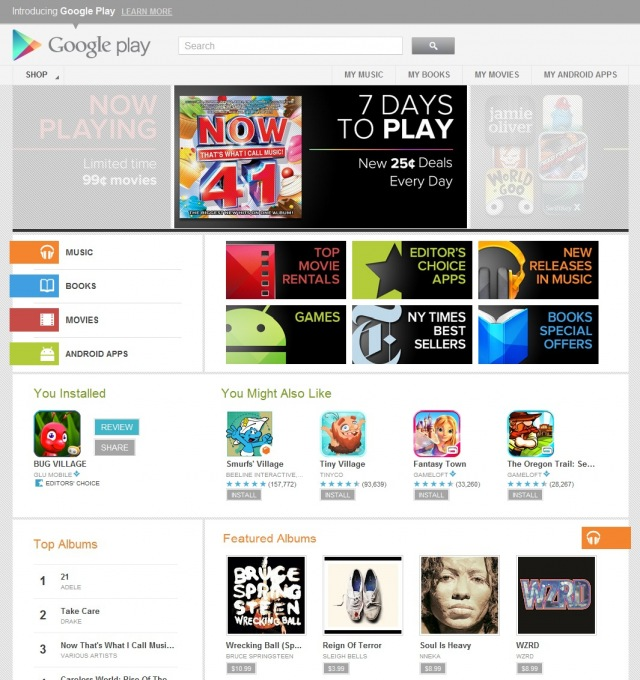 google-play-web-home Google Play, a nova loja de mídias e aplicativos do Google