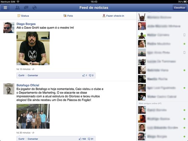 Bate-Papo Facebook (Foto: Reprodução/Marlon Câmara)