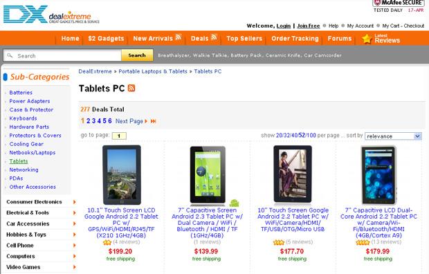353e09deb85ec No site Deal Extreme o usuário compra produtos chineses importados com  frete grátis (Foto: