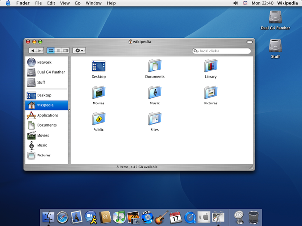 time machine mac os x 10.4
