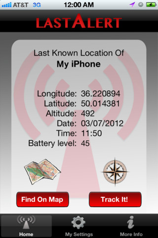 como rastrear un iphone desligado