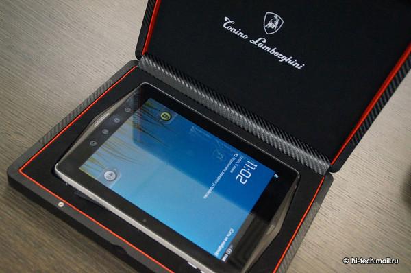 c7332c1f94e Lamborghini lançará smartphones de ouro e tablet com tela de safira ...